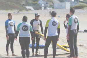 Ecole de Surf de Bretagne, Baie des Trépassés, Août 2019