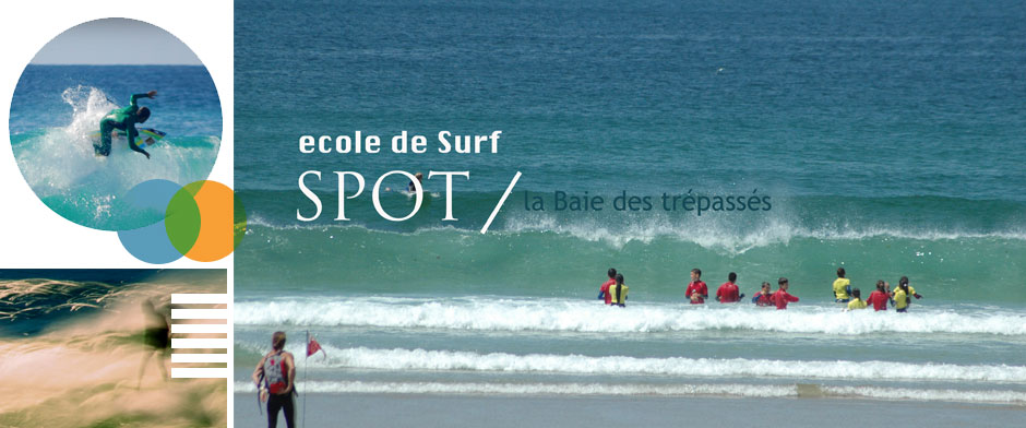 La Baie des trpasss, spot de l'Ecole de Surf de Bretagne d'Audierne